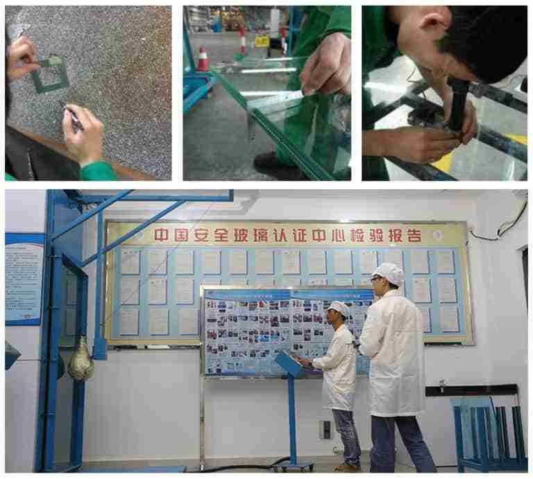 shenzhen dragon glass quality control testing