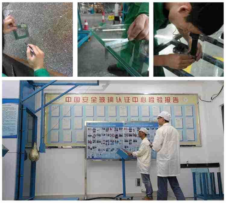 pruebas de control de calidad de vidrio de dragón shenzhen