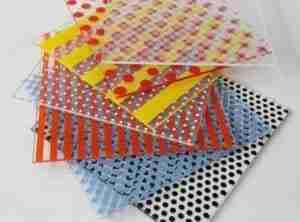 Shenzhen Dragon Glass silk screen printing glass patterns