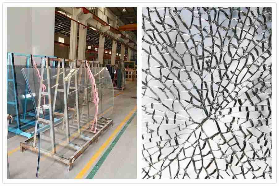 شنتشن التنين الزجاج المنحني تشديد الزجاج آمنة وقوية