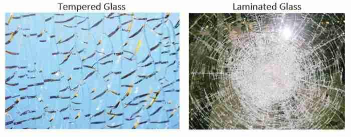 bons preços de vidro laminado
