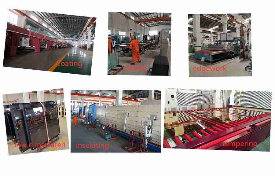 Shenzhen Dragon Glass low e insulated glass process