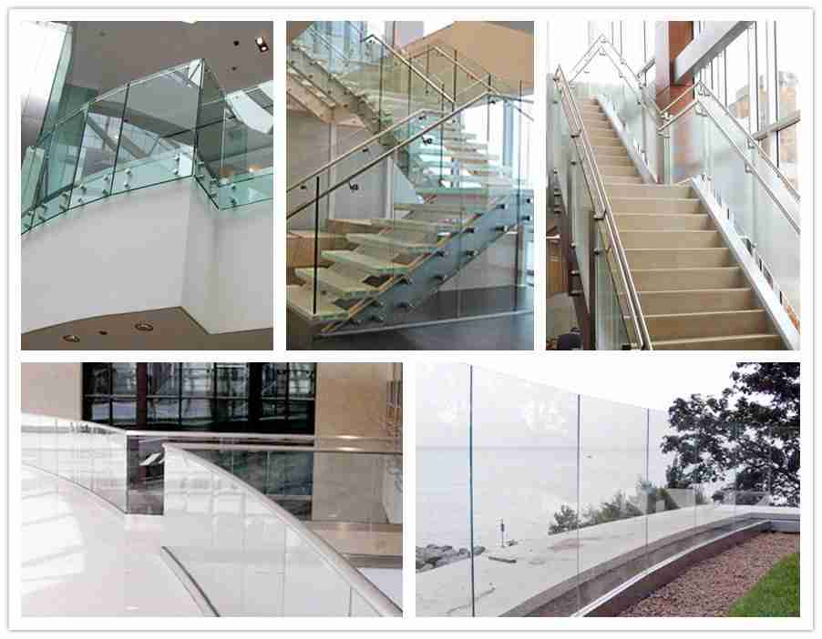 glass railing system by Shenzhen Dragon Glass in China