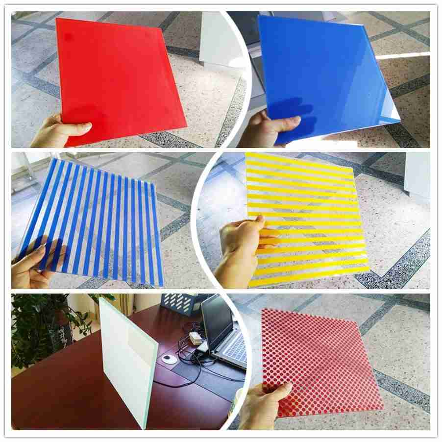 cheap silk screen printing glass