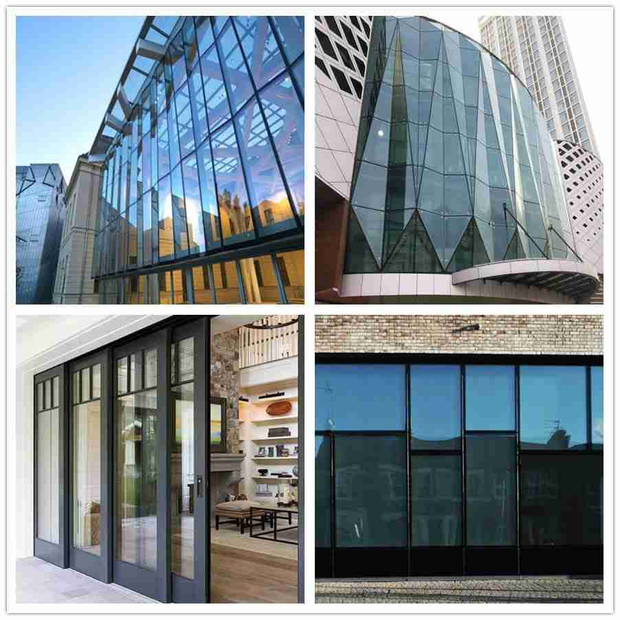 Shenzhen Dragon Glass low e insulated glass projects.