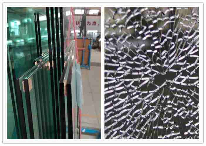 12mm thick toughened glass railing system