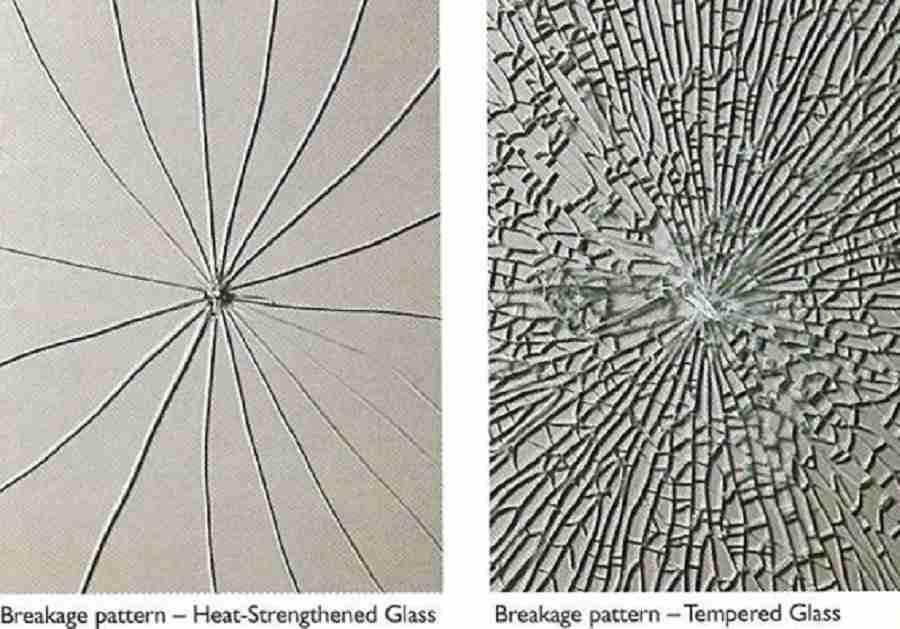 Shenzhen Dragon Glass chaleur renforcée bris de verre