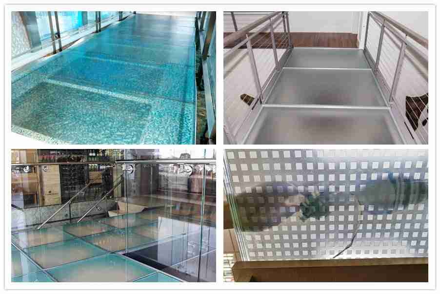 laminated glass floor patterns