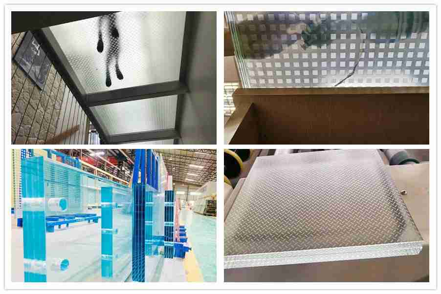 Shenzhen Dragon Glass laminated glass floor products