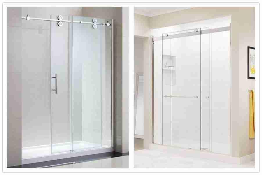 3 tipos de excelentes puertas de ducha de vidrio 1 Puertas de ducha de vidrio