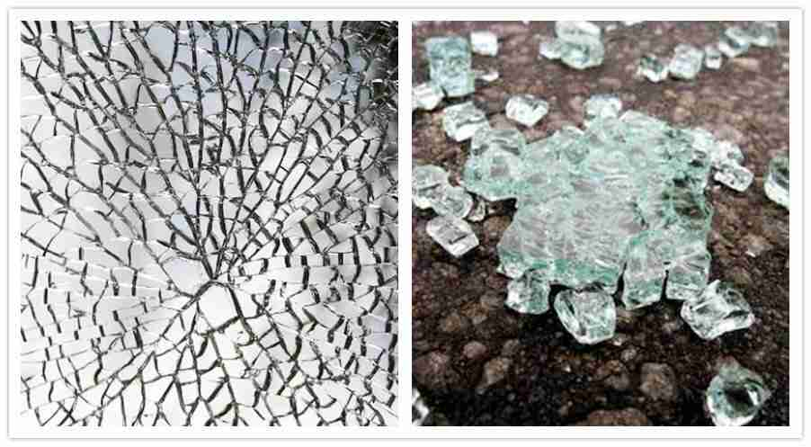 Tempered glass breakages