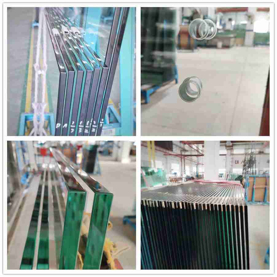 tempered glass railing system
