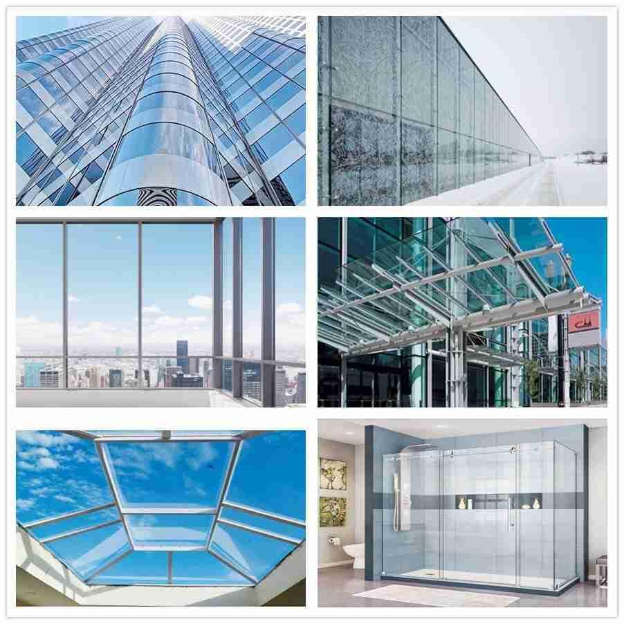 Shenzhen Dragon Glass stratifié en verre trempé applications