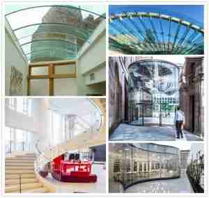 curved glass applications