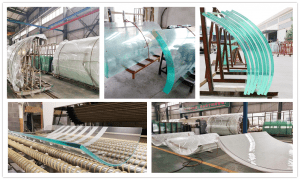 shenzhen dragon glass curved glass products.