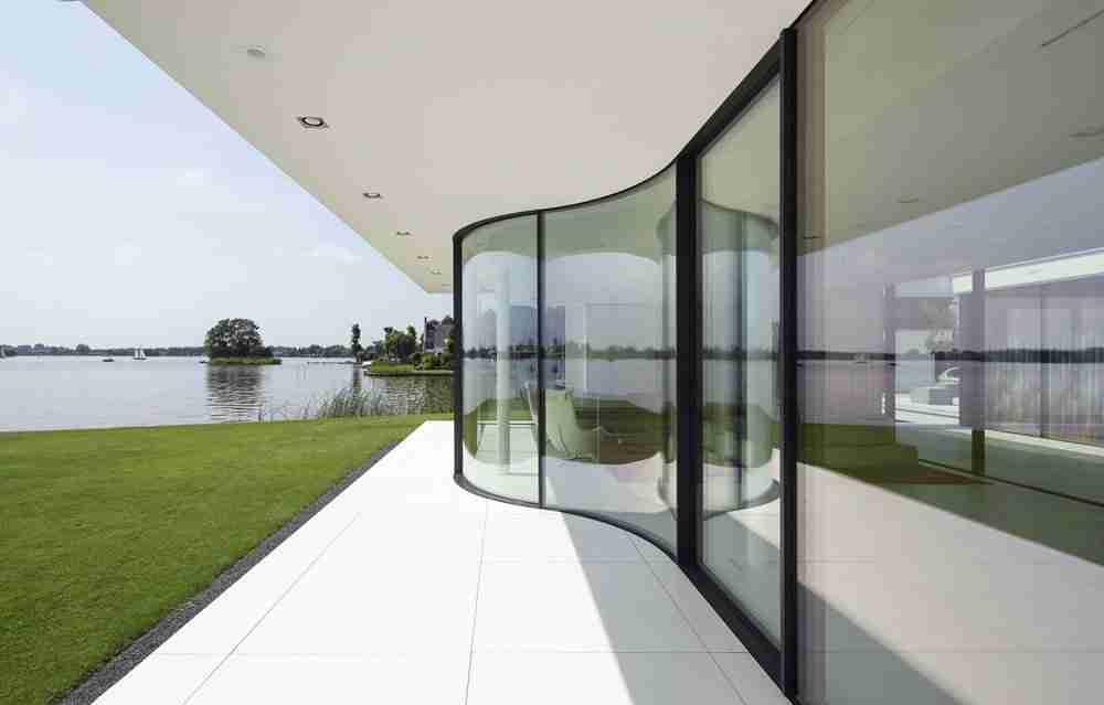 proveedores de vidrio curvo para pared de vidrio curvado