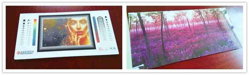 impressão digital em vidro