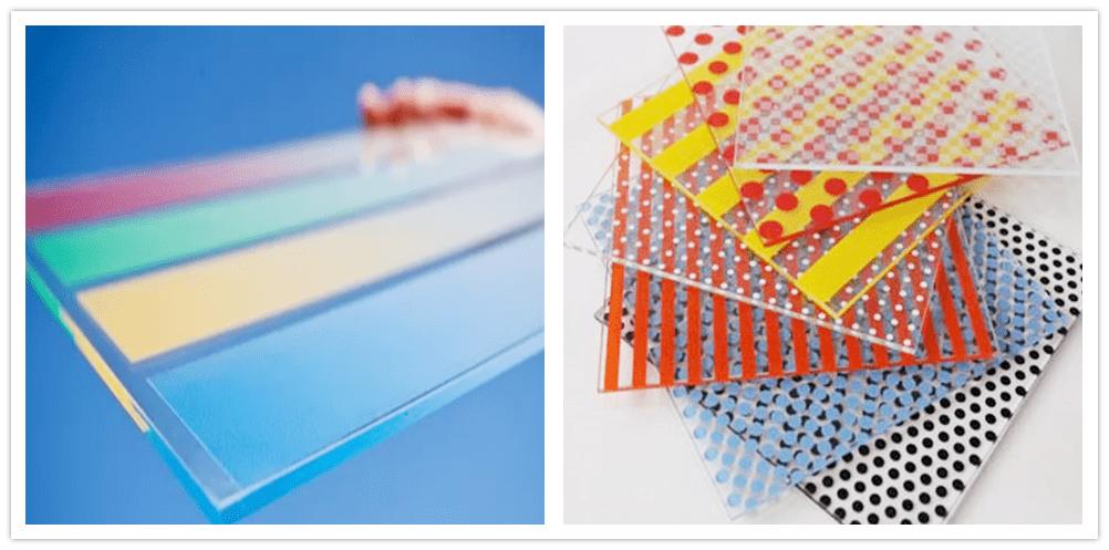 Impressão digital em vidro VS vidro de impressão de tela de seda