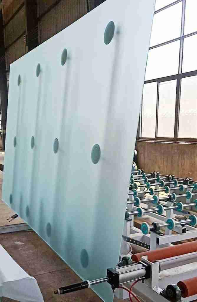 Fournisseurs supérieurs de verre sablé de 4 à 19 mm 1 verre sablé