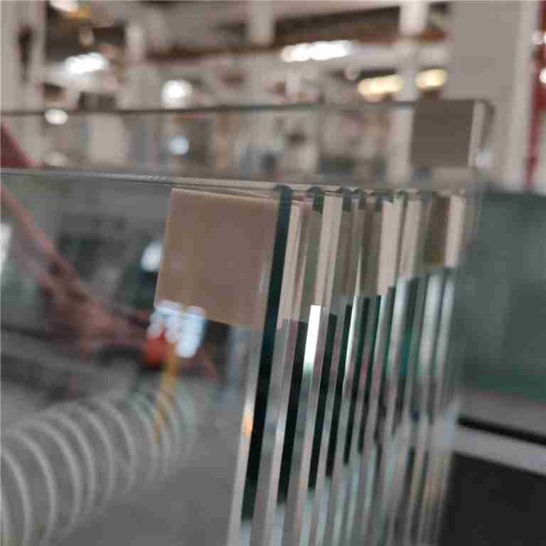 clear low iron toughened glass