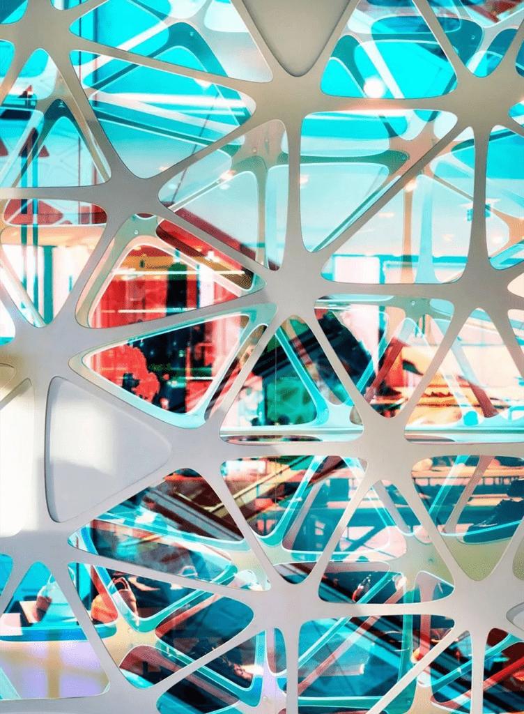 3M dichroic فيلم الزجاج مغلفة الملونة 2