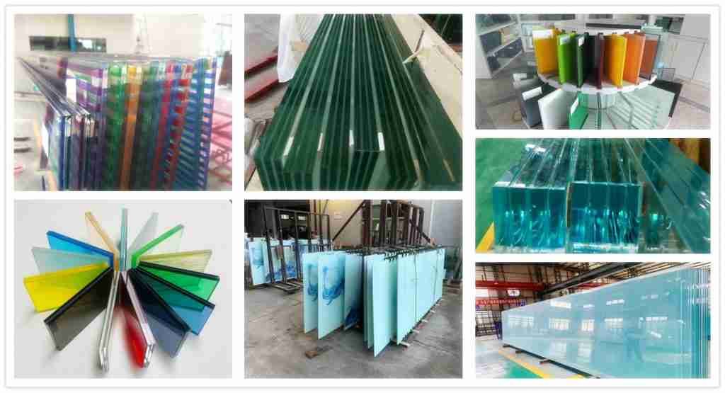 China excellent 6+1.52pvb+6 clear tinted colored laminated glass for windows manufacturers 1 laminated glass for windows