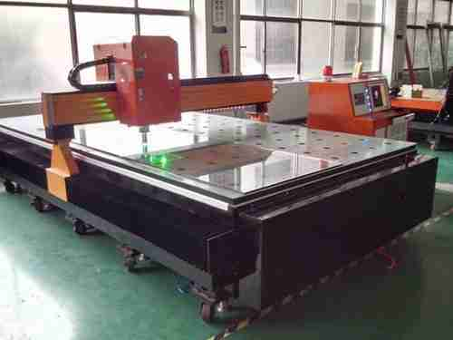 fluted glass carving machine