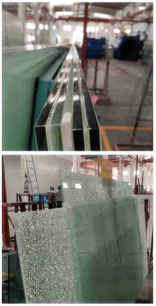 Laminated glass breakage