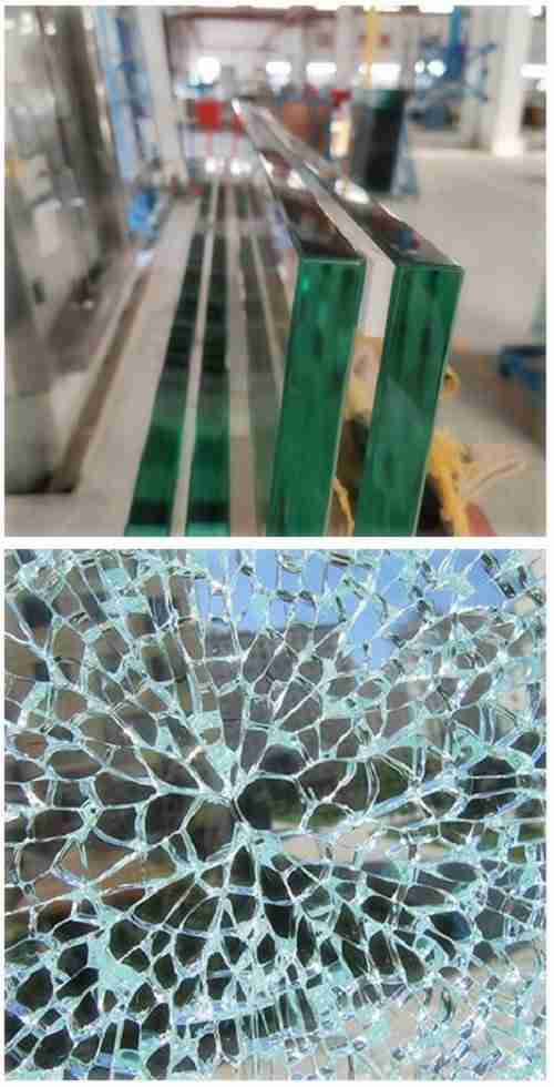 Tempered glass breakage