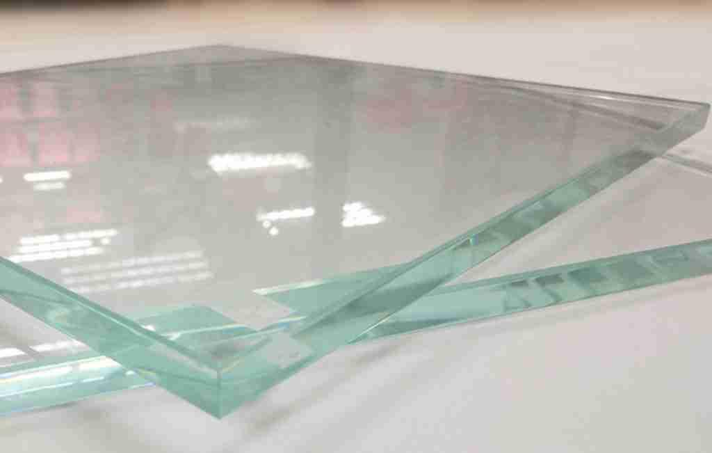 low iron glass shower door sample