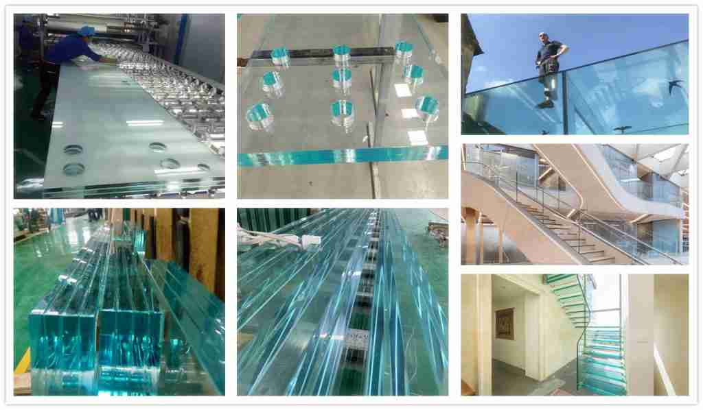 SGP laminated glass products and applications