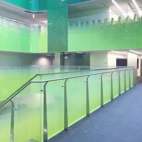 digital printing glass railing system